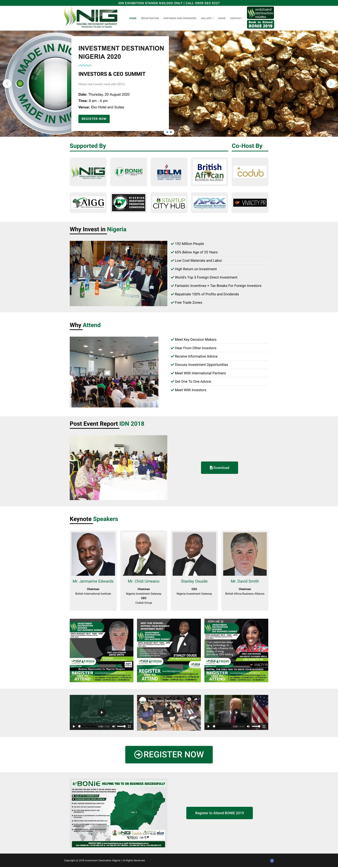 Investment Destination Nigeria